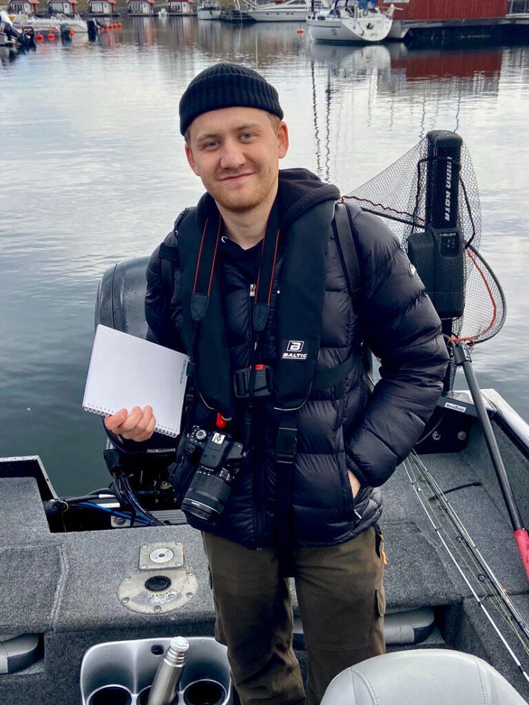 Reportage med Norrtälje tidning